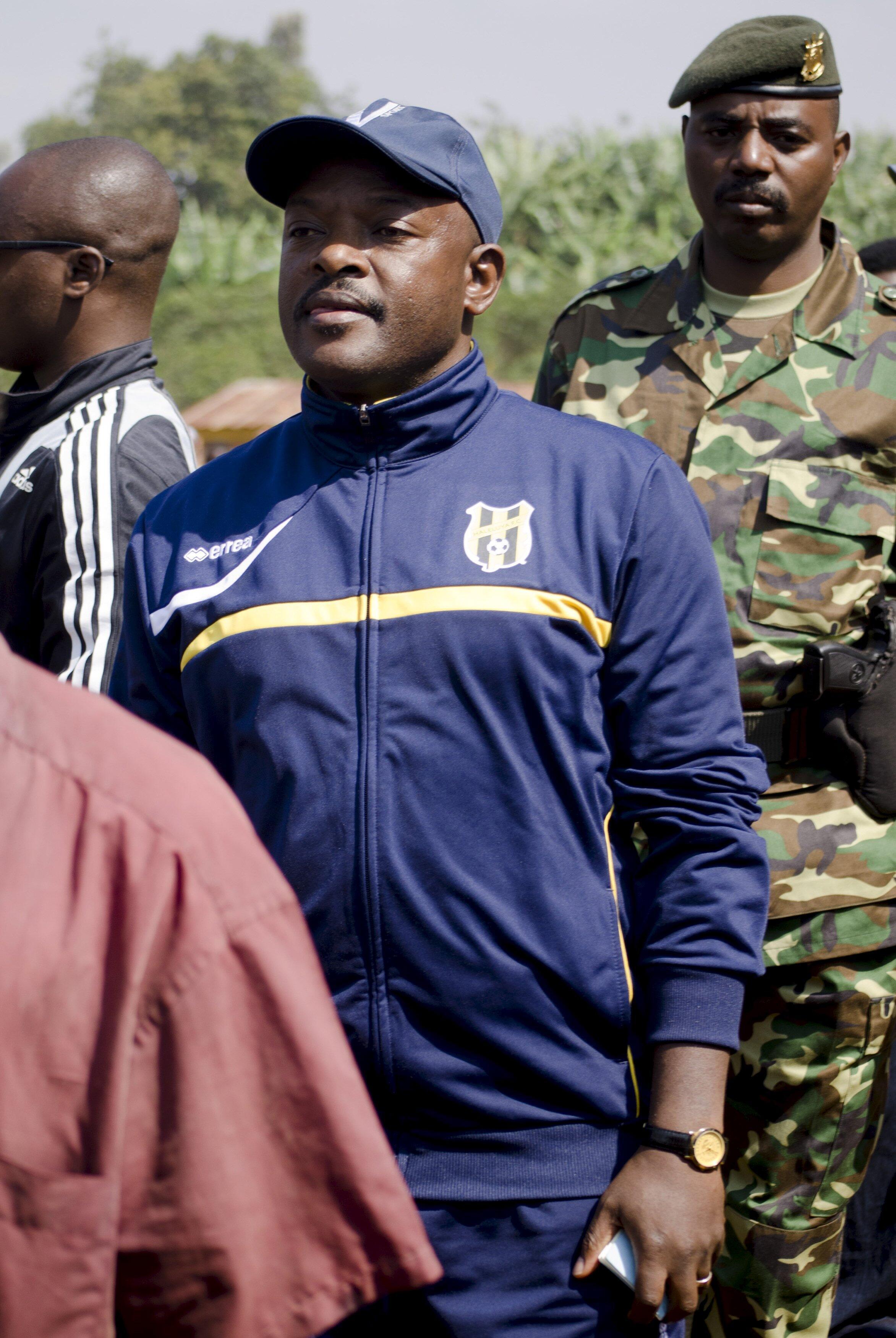 Pierre Nkurunziza, presidente do Burundi