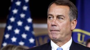 Republican House of Rrepresentatives Speaker John Boehner