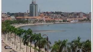 La baie de Luanda.