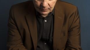 L'écrivain Christian Bobin, à l'occasion de la publication de son livre «La nuit du cœur», aux éditions Gallimard.