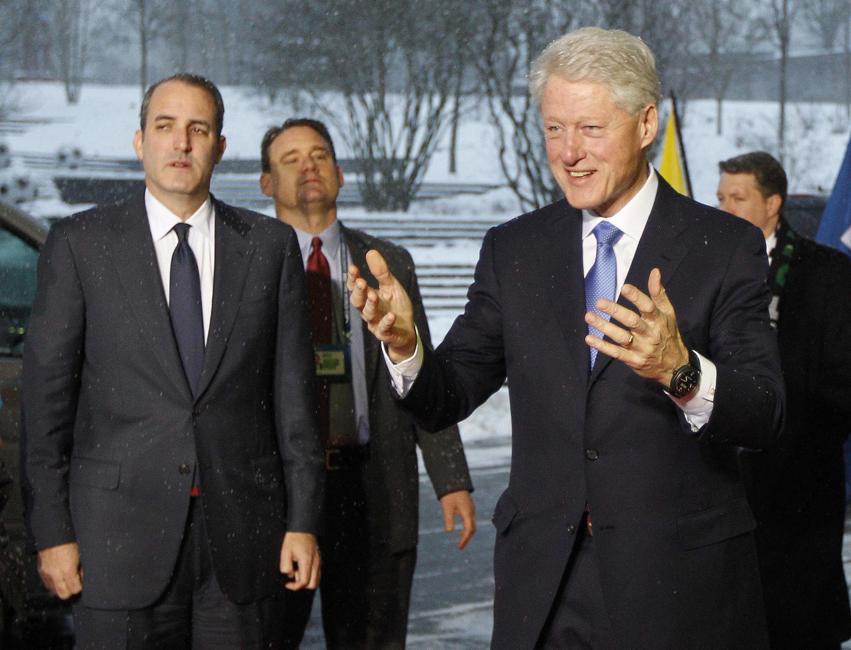 Cựu Tổng thống Mỹ Bill Clinton - Reuters