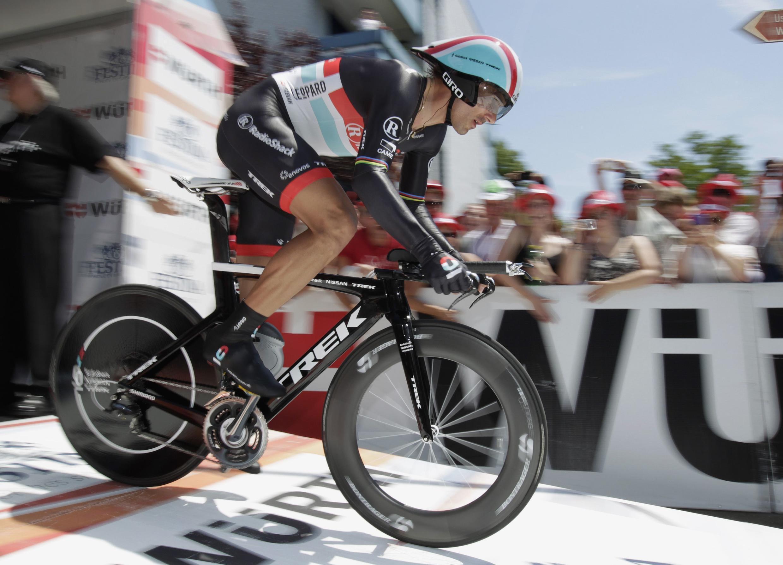 O ciclista suiço Fabio Cancellara.