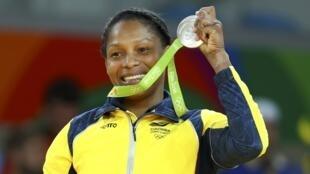 La colombiana Yuri Alvear le dio otro motivo de orgullo a su país con una medalla de broce en judo.