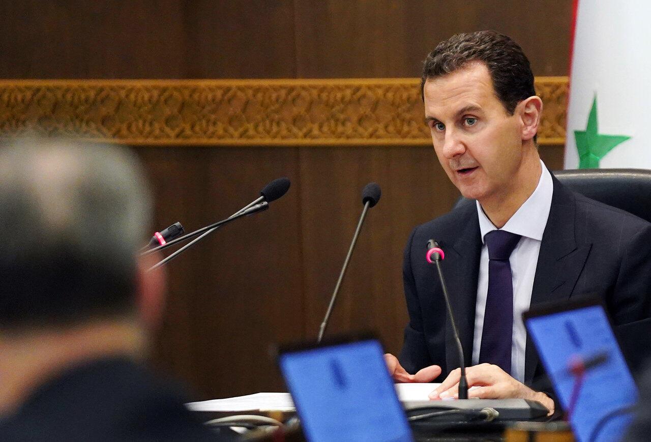 O presidente sírio Bashar al-Assad, em maio de 2019 em Damasco.