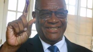 Evaristo de Carvalho, Presidente  de São Tomé  e Príncipa.
