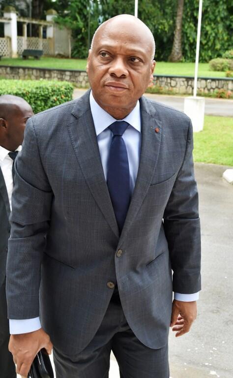 Jean-Claude Brou, ministre de l'Industrie et des mines de Côte d'Ivoire. Ici le 6 juillet 2015 à Abidjan.