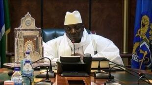 L'ancien président gambien Yahya Jammeh.