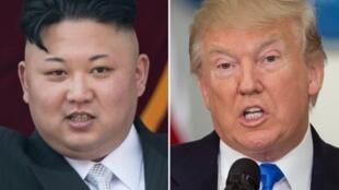 Retomou o braço-de-ferro entre Kim Jong-Un e Donald Trump