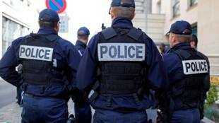 Des officiers de la police française, le 11 octobre 2016. (Illustration)