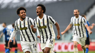 PHOTO Juan Cuadrado Juventus-Inter - 15 mai 2021