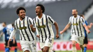 PHOTO Juan Cuadrado Juventus-Inter - 15 mai 2021