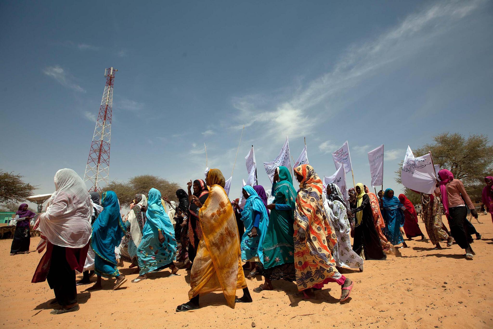 International women's day in Al Koma, North Darfur