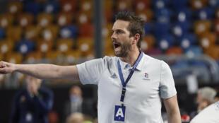 PHOTO Guillaume Gille - Equipe de France de handball - 29 janvier 2021