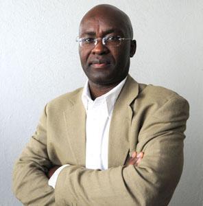 Achille Mbembe, professeur d'histoire et de développement à l'université Witwatersrand, à Johannesburg.