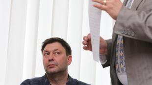 Суд в Херсоне арестовал руководителя РИА Новости — Украина Кирилла Вышинского на два месяца