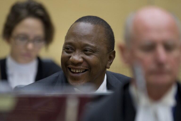 Kenya's President Kenyatta appears before the ICC in The Hague on 8 October 2014.