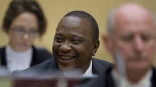 Le président du Kenya Uhuru Kenyatta comparaît devant la Cour pénale internationale à La Haye, le 8 octobre 2014.