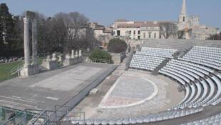 El Théâtre Antique de la ciudad de Arles.