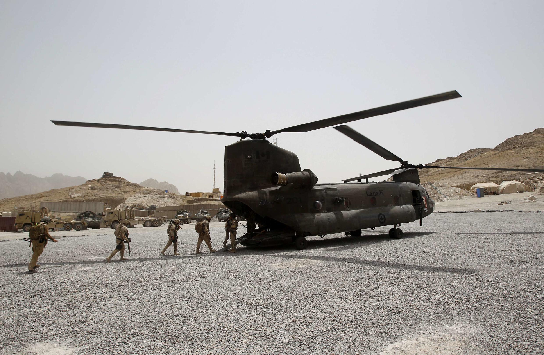 Daya daga cikin jiragen Amirka da ya fadi a kasar Afghanistan