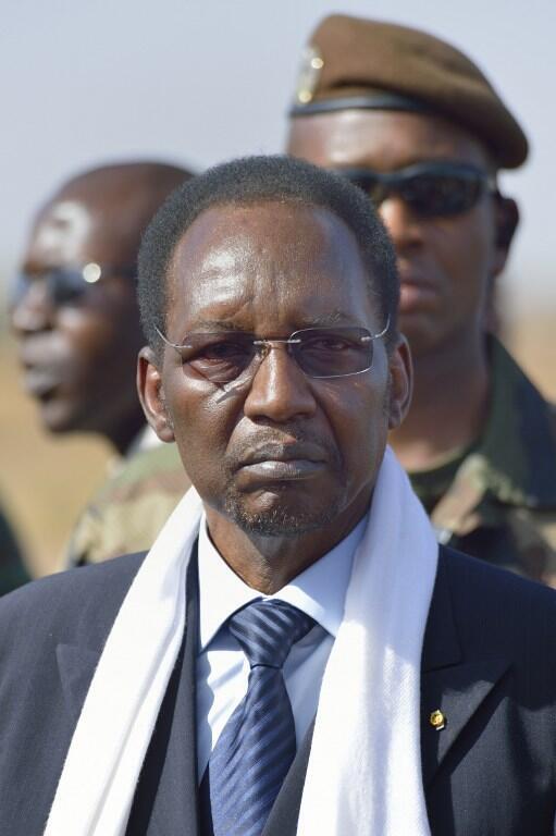 Dioncounda Traoré, le 16 janvier 2013 à Bamako.