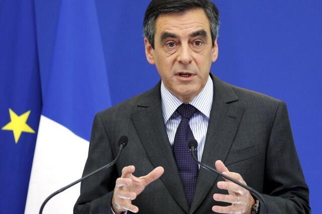 François Fillon in Paris in January 2012.