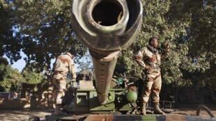 Força francesa no Mali.