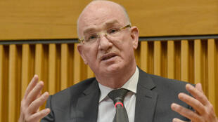 Smail Chergui, the AU peace and security commissioner in Addis Ababa in April 2018