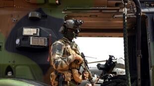 Un commando français de l'opération Barkhane sur la base de Gao, au Mali. (Image d'illustration)