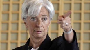 Christine Lagarde, chefe do FMI, confirmou que a instituição precisa reforçar seus recursos.