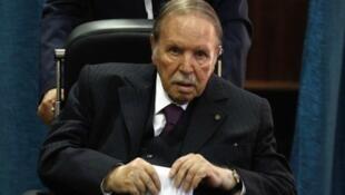 Shugaban kasar Algeria Abdelaziz Bouteflika.