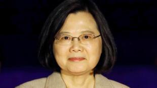 圖為台灣總統蔡英文