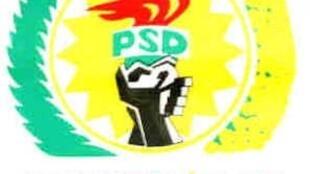Sigla do partido histórico da independência de S. Tomé e Principe, MLSTP-PSD