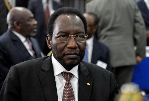 Le président malien de la transition Dioncounda Traoré.