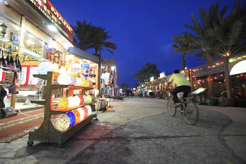 Dahab, une destination touristique très prisée dans le Sud-Sinaï.
