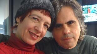 El dúo MadreTierra en los estudios de RFI