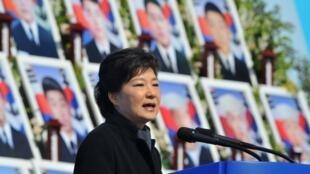 韩国总统朴槿惠资料照片