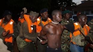 Detenção do capitão Pansau N'Tchama a 27 de Outubro 2012