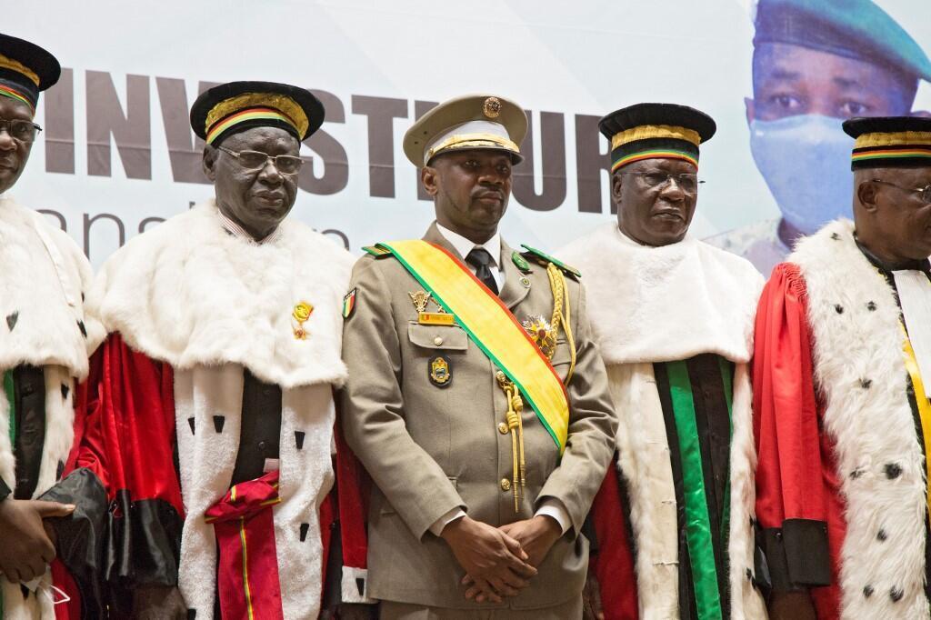 Presidente interino de Malí, Coronel Assimi Goita