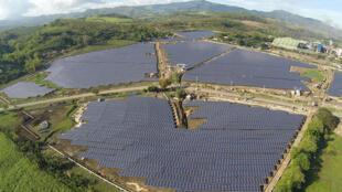 Một dự án năng lượng mặt trời tại Philippines của AC Energy, đối tác trong dự án BIM1 Việt Nam