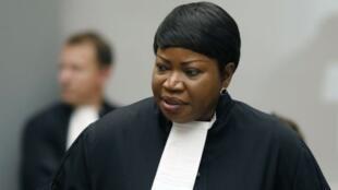 La fiscal de la CPI Fatou Bensouda