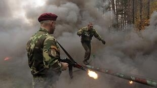 Учения подразделения белорусского спецназа 19/10/2011 (архив)