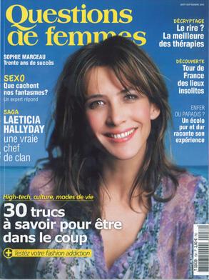 Questions de femmes,  август-сентябрь 2010