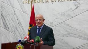 Augusto Santos Silva, ministro português dos Negócios Estrangeiros