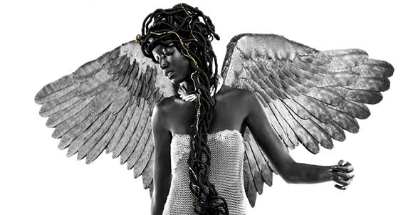 Détail de la pochette de l'album «NGRTD» de Youssoupha.