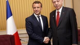 Macron et Erdogan