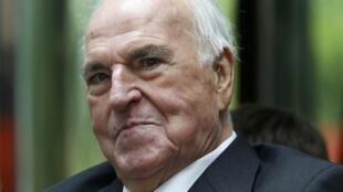 L'ex-chancelier allemand Helmut Kohl est décédé vendredi 16 juin 2017, à l'âge de 87 ans. Ici, le 26/06/2013