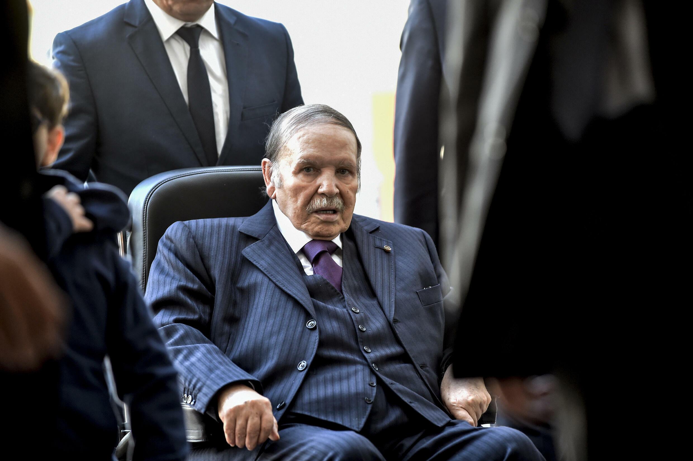 Abdelaziz Bouteflika, entonces presidente de Argelia, el 23 de noviembre de 2017 en Argel