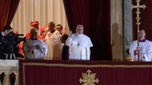 O papa Francisco I