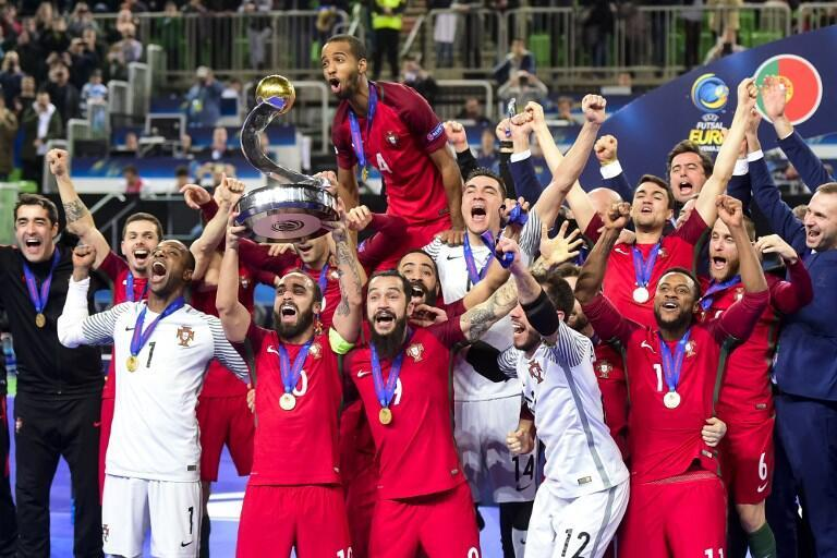 Portugal sagrou-se Campeão da Europa de Futsal 2018.
