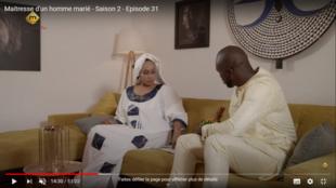 """""""Maîtresse d'un homme marié"""", la deuxième saison de la série sénégalaise s'achève ce lundi 13 juillet."""